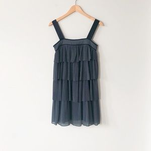 HP French Connection Grey Layered Cocktail Dress